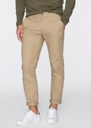 Pantalon Slim Fit Straight, RAINBOW, beige