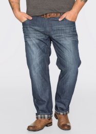 Jean thermo Regular Fit Straight, John Baner JEANSWEAR, bleu foncé