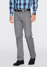 Pantalon thermo extensible Regular Fit Straight, bpc bonprix collection, gris fumée