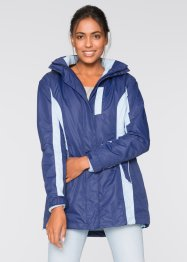 Veste outdoor 3en1, bpc bonprix collection, bleu nuit/bleu clair