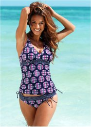 Top de tankini, bpc bonprix collection, bleu/fuchsia
