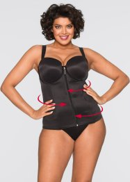 Bustier, bpc bonprix collection, noir