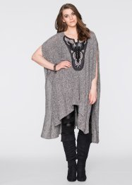 Poncho avec application bijou, BODYFLIRT boutique