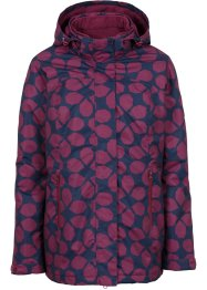 Veste fonctionnelle outdoor 3en1, bpc bonprix collection, prune