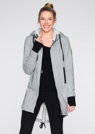 Gilet sweat avec doublure polaire, bpc bonprix collection