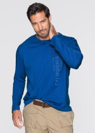 T-shirt manches longues Regular Fit, bpc bonprix collection, turquoise