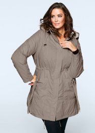 Manteau court, bpc selection, taupe
