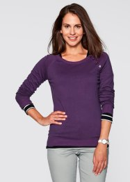 Pull avec patte de boutonnage, bpc bonprix collection