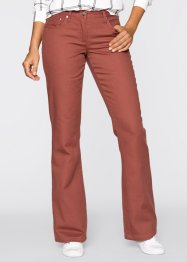 Pantalon thermo Bootcut, bpc bonprix collection, marron marsala