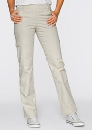 Pantalon cargo thermo, bpc bonprix collection, beige galet