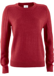 Pull, bpc bonprix collection, rouge piment