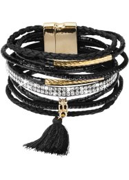 Large bracelet avec houppe, bpc bonprix collection