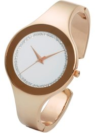 Montre manchette avec strass, bpc bonprix collection