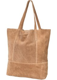 Sac shopper en cuir, bpc bonprix collection
