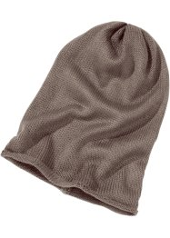 Beanie, bpc bonprix collection, taupe