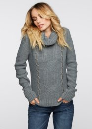 Pull, BODYFLIRT boutique, gris