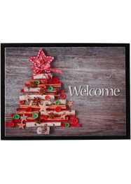 Tapis de protection imprimé sapin de Noël, bpc living bonprix collection