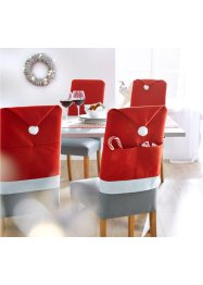 Housse de chaise Santa (Ens. 4 pces.), bpc living bonprix collection