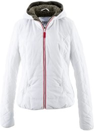 Veste à capuche, bpc bonprix collection, blanc cassé
