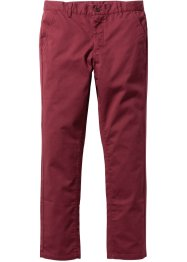 Pantalon Slim Fit Straight, RAINBOW, bordeaux