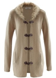 Gilet en maille, bpc bonprix collection, new beige