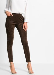 Pantalon en synthétique imitation cuir velours, BODYFLIRT