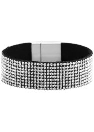 Bracelet large avec strass, bpc bonprix collection