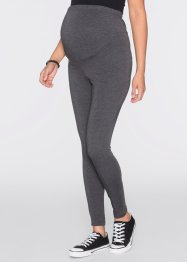 Legging thermo de grossesse, bpc bonprix collection, anthracite chiné