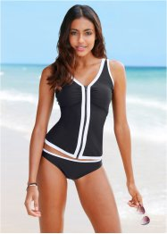 Tankini (Ens. 2 pces.), bpc bonprix collection, noir
