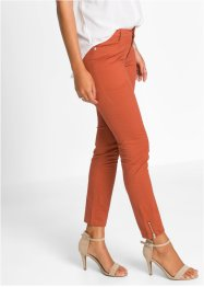 Pantalon extensible, BODYFLIRT, marron marsala