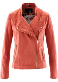 Veste biker synthétique imitation cuir, bpc selection premium