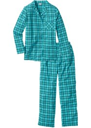 Pyjama tissé en flanelle, bpc bonprix collection
