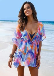 Tunique de plage, bpc selection, bleu/orange