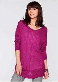 Pull oversize, bpc bonprix collection, violet orchidée