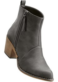 Bottines, bpc bonprix collection, gris