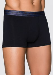 Lot de 3 boxers, bpc bonprix collection, bleu azur/noir