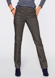 Pantalon super stretch, droit, bpc bonprix collection, noir
