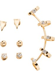 Set de boucles d'oreilles (6 pces.), bpc bonprix collection