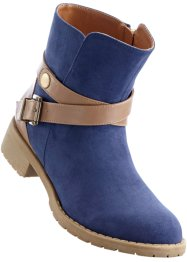 Bottines, bpc bonprix collection, bleu foncé
