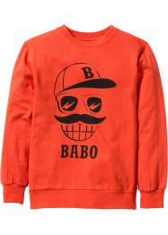 Sweat-shirt, bpc bonprix collection, orange sanguine
