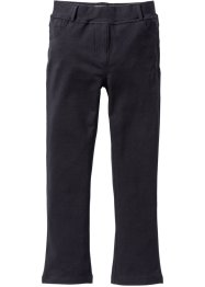 Pantalon extensible forme bootcut, bpc bonprix collection, noir