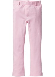 Pantalon extensible forme bootcut, bpc bonprix collection, rose poudré
