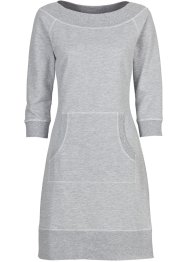 Robe, BODYFLIRT, gris clair/blanc chiné