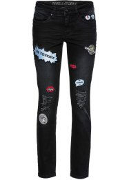 Jean extensible skinny Marcell von Berlin for bonprix, Marcell von Berlin for bonprix, noir denim