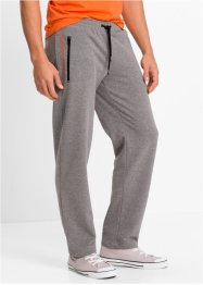 Pantalon de jogging Regular Fit, bpc bonprix collection, gris chiné