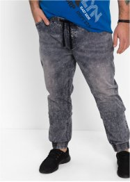 Jean confort SLIM, RAINBOW, gris denim