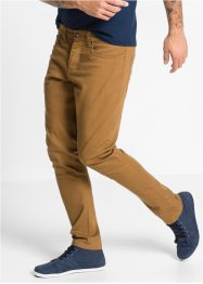 Pantalon extensible Slim Fit Straight, RAINBOW, cognac