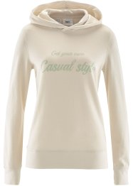 Sweat-shirt, bpc bonprix collection, beige galet imprimé