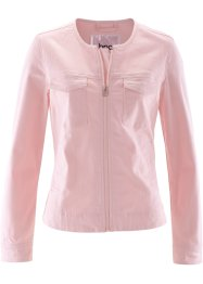 Veste en twill, bpc bonprix collection, rose nacré