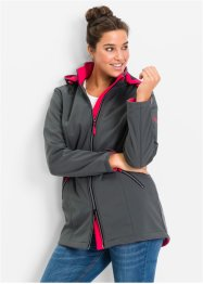 Veste softshell extensible à capuche, bpc bonprix collection